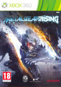Metal Gear Rising: Revengeance Xbox 360 Front Cover