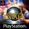 Legend of Legaia PlayStation Front Cover