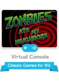 Zombies Ate My Neighbors Wii Front Cover