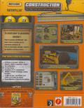 MatchBox Caterpillar Construction Zone Windows Back Cover