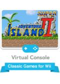 Super Adventure Island II Wii Front Cover