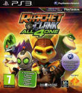 Ratchet & Clank: All 4 One PlayStation 3 Front Cover
