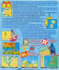 The New Zealand Story Atari ST Back Cover