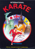 World Karate Championship Atari ST Front Cover