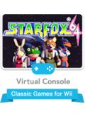 Star Fox 64 Wii Front Cover