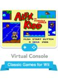 Alex Kidd in Miracle World Wii Front Cover