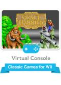Space Harrier Wii Front Cover