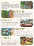 Heroes of Might and Magic: Complete Edition Windows Other Games Disks Digipak - Right Flap