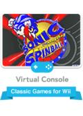 Sonic the Hedgehog: Spinball Wii Front Cover