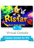 Ristar Wii Front Cover