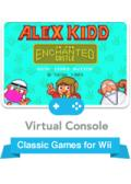 Alex Kidd in the Enchanted Castle Wii Front Cover
