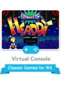 Dynamite Headdy Wii Front Cover