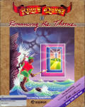 King's Quest II: Romancing the Throne Atari ST Front Cover