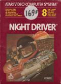Night Driver Atari 2600 Front Cover