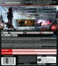 Mass Effect 3 PlayStation 3 Back Cover Reversible back