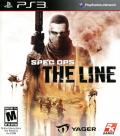 Spec Ops: The Line PlayStation 3 Front Cover