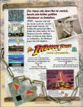 Indiana Jones and the Fate of Atlantis Amiga Back Cover