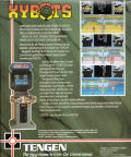 Xybots Amiga Back Cover