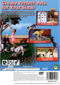 The Sims 2: Pets PlayStation 2 Back Cover