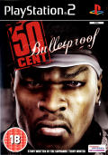 50 Cent: Bulletproof PlayStation 2 Front Cover