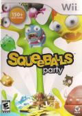 Squeeballs Party Wii Front Cover
