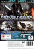 Peter Jackson's King Kong: The Official Game of the Movie PlayStation 2 Back Cover