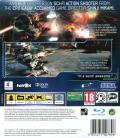 Vanquish PlayStation 3 Back Cover