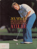 Jack Nicklaus' Greatest 18 Holes of Major Championship Golf Atari ST Front Cover
