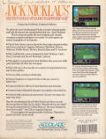 Jack Nicklaus' Greatest 18 Holes of Major Championship Golf Atari ST Back Cover