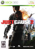 Just Cause 2 Xbox 360 Front Cover