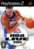 NBA Live 2005 PlayStation 2 Front Cover