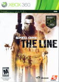 Spec Ops: The Line Xbox 360 Front Cover
