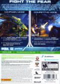 Aliens: Colonial Marines Xbox 360 Back Cover