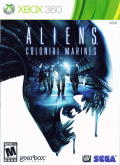 Aliens: Colonial Marines Xbox 360 Front Cover