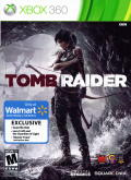 Tomb Raider Xbox 360 Front Cover