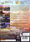 Tropico 4 Xbox 360 Back Cover