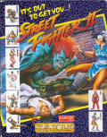 Street Fighter II Atari ST Front Cover