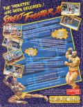 Street Fighter II Atari ST Back Cover