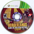 Borderlands: Game of the Year Edition Xbox 360 Media Disc 1: Main Game
