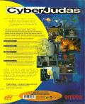 CyberJudas DOS Back Cover Outer sleeve