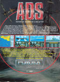 Advanced Destroyer Simulator Atari ST Back Cover