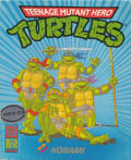 Teenage Mutant Ninja Turtles Atari ST Front Cover