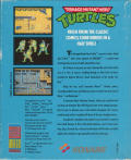 Teenage Mutant Ninja Turtles Atari ST Back Cover