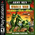 Army Men: World War - Land Sea Air PlayStation Front Cover