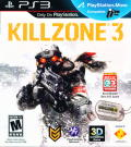 Killzone 3 PlayStation 3 Front Cover