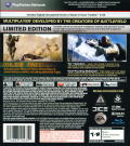 Medal of Honor (Limited Edition) PlayStation 3 Back Cover