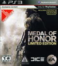 Medal of Honor (Limited Edition) PlayStation 3 Front Cover
