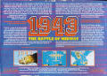 1943: The Battle of Midway Atari ST Back Cover