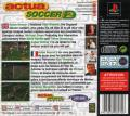 Actua Soccer 2 PlayStation Back Cover