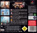 Primal Rage PlayStation Back Cover